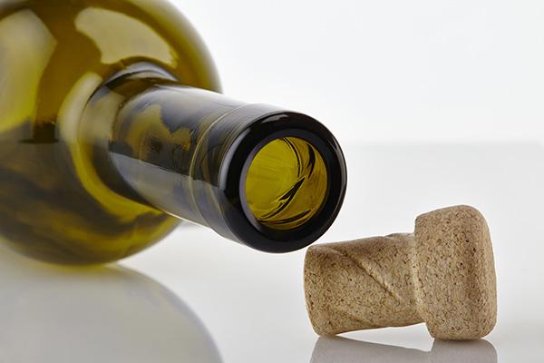 Открытая бутылка