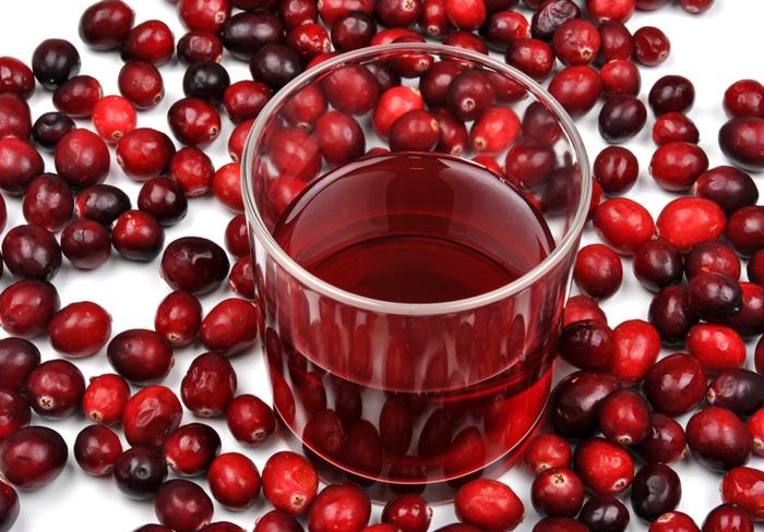 Клюква и вино