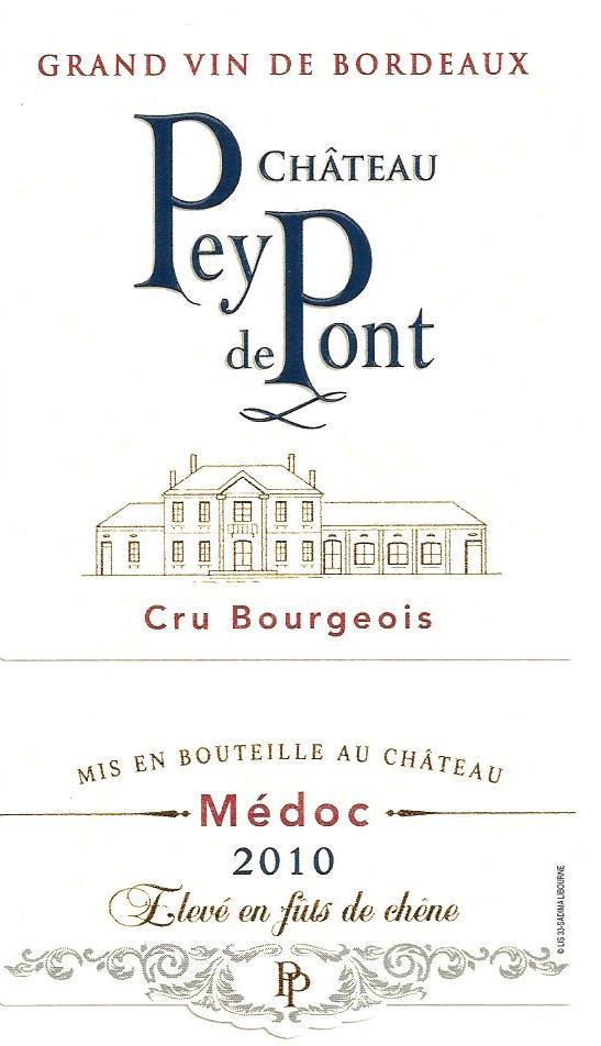Chateau Pey de Pont rouge