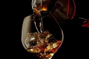 Виски и бутылка