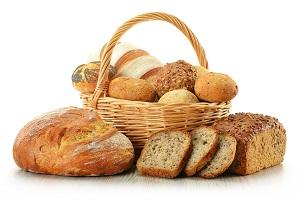 Хлеб в корзине