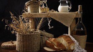 Самогон и хлеб
