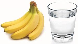 Стакан и бананы